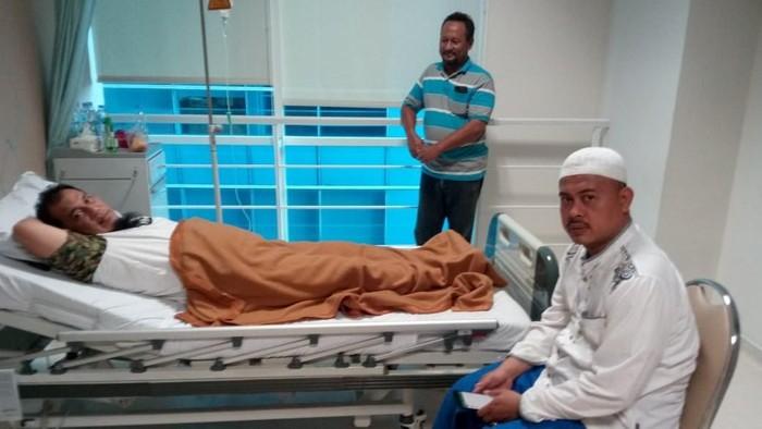 Ustaz Bernard Abdul Jabbar disebut mengalami sedikit pembengkakan jantung. Foto: dok. istimewa