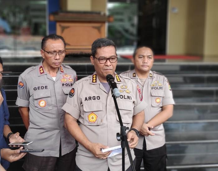 Kepala Bidang Humas Polda Metro Jaya Kombes Argo Yuwono (Matius Alfons/detikcom)