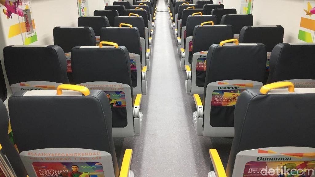 Sudah Banyak Kemajuan, Kereta Bandara Soetta Masih Sepi