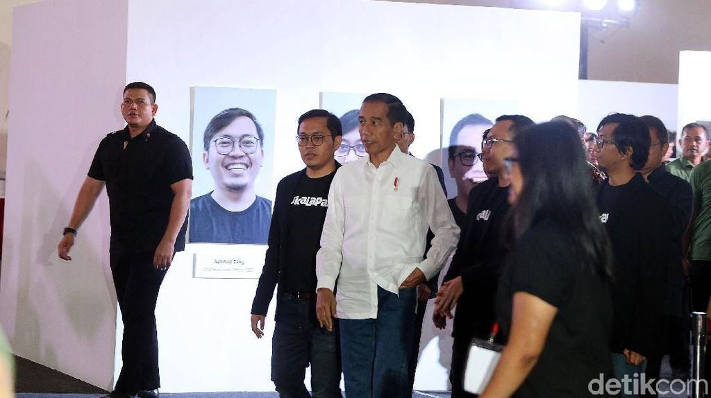 Pesan Jokowi: Jangan Sampai e-Commerce Hanya Diisi Produk Impor