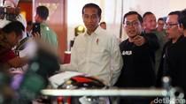Hadiri Ultah Bukalapak Jokowi Semringah Banget