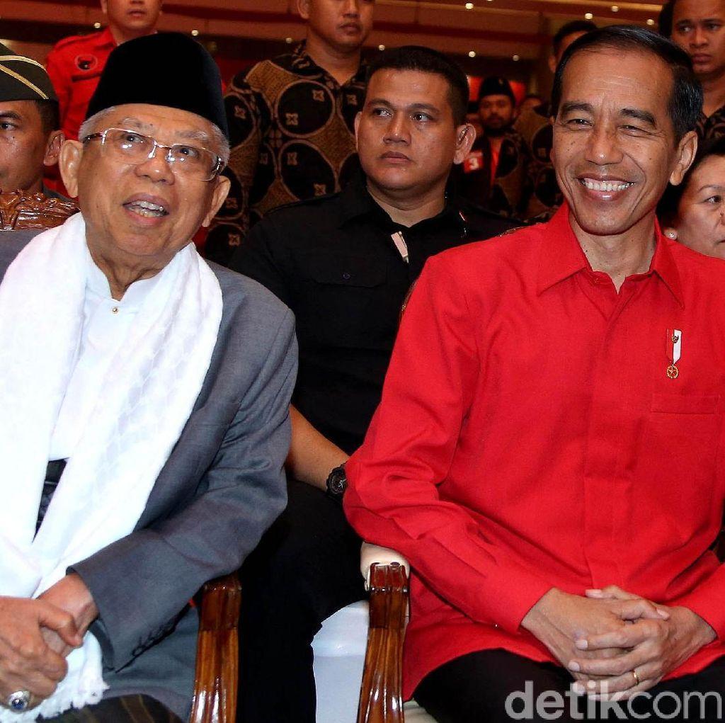 Charta Politika: Faktor Maruf Baru Sumbang 0,2% Suara ke Jokowi