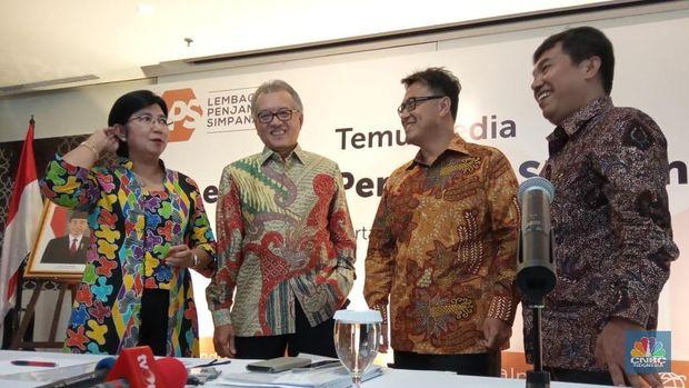 LPS: Marjin Bunga Bersih Bank RI Tertinggi di Dunia