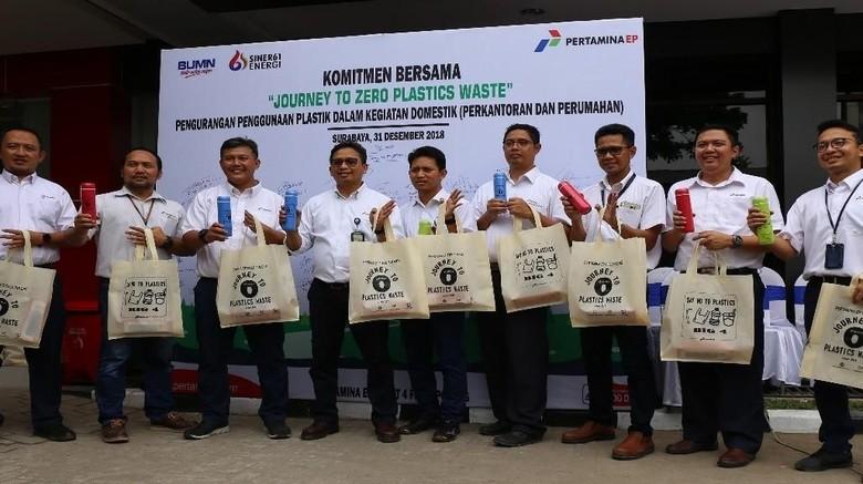 Peduli Lingkungan, Pertamina EP Komitmen Kurangi Pemakaian Plastik