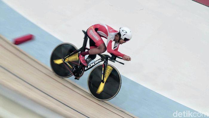Senjata Baru membantu M Faldi meraih medali emas (Pradita Utama/detikSport)