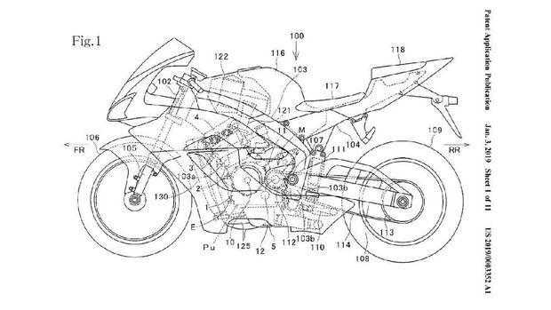 Paten Honda CBR1000RR