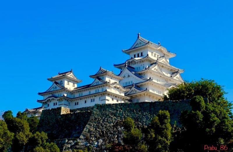 Kastil Himeji di Jepang