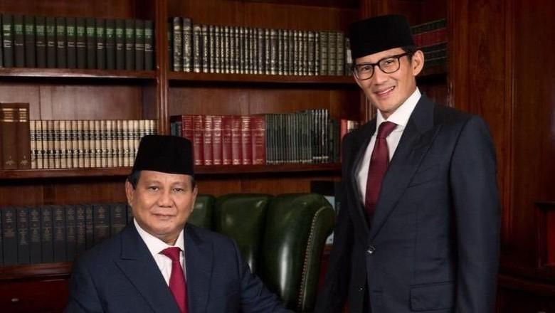 Prabowo-Sandi Ubah Visi-Misi, Ini Dokumen Indonesia Menang Selengkapnya