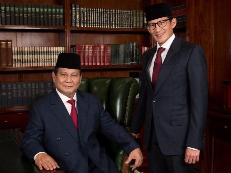 Prabowo-Sandiaga akan Nobar Sidang Putusan MK di Kertanegara