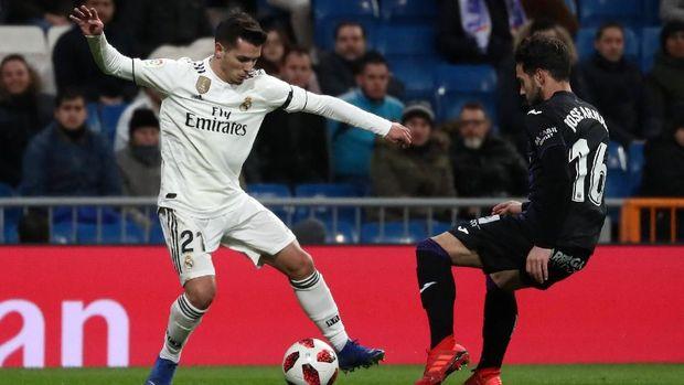 Brahim Diaz debut di Madrid saat melawan Leganes.