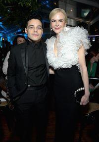 Rami Malek dan Nicole Kidman di AACTA International Awards 2019.