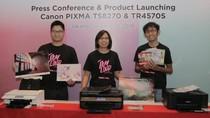Printer Canon Pixma TS8270 Dirilis, Bisa Cetak Stiker Kuku