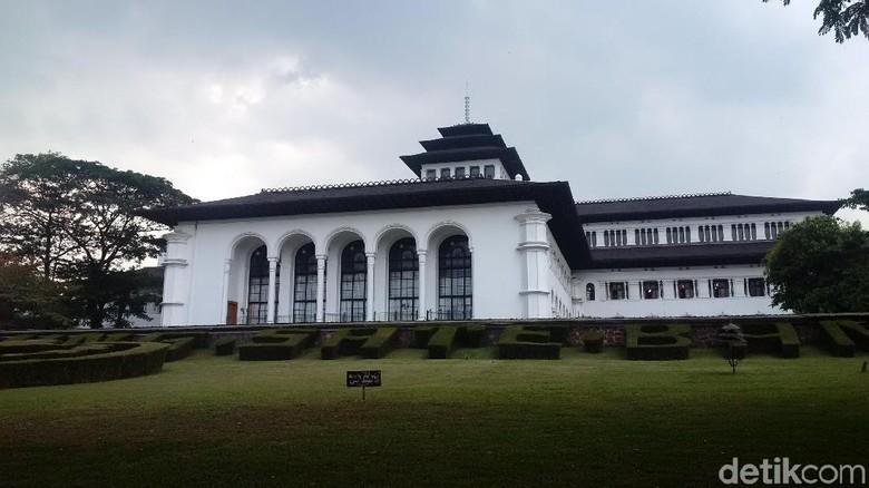 Gedung Sate di Bandung (Mochamad Solehudin/detikcom)