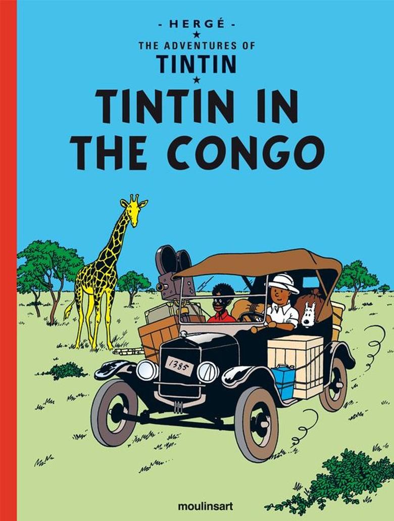 Komik Kontroversial Tintin in Congo Terbit di Perayaan Ultah ke-90   Foto: Istimewa
