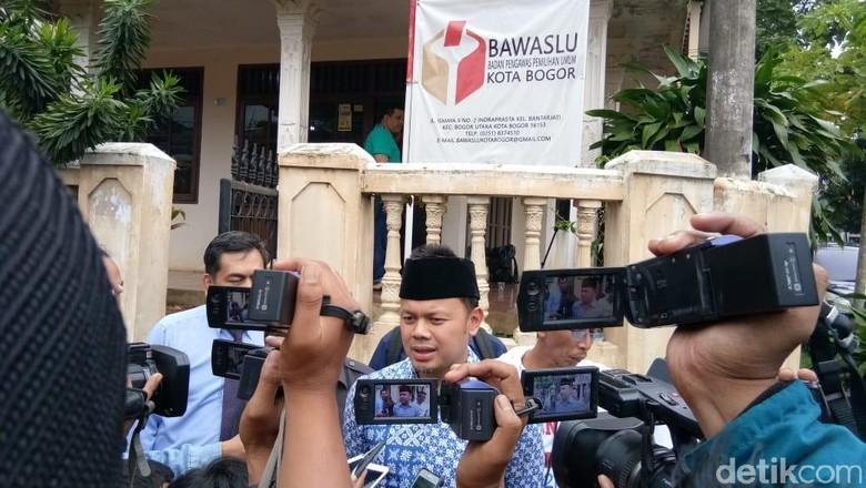 Bawaslu Bogor Putuskan soal Pose Satu Jari Bima Arya Pekan Depan
