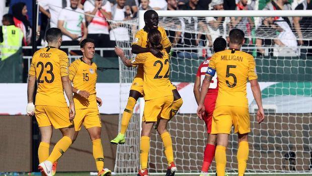 Australia Tundukkan Palestina 2-0 di Piala Asia