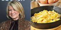 Ini Cara Baru Martha Steward Bikin Scramble Egg yang Creamy Lezat