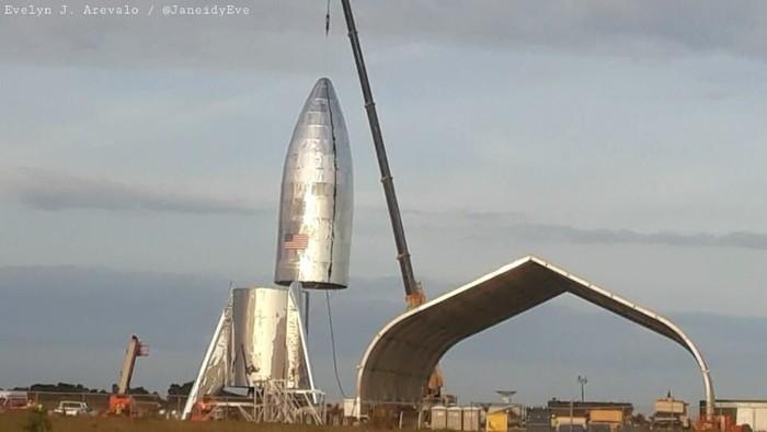 Starship. Foto: Istimewa