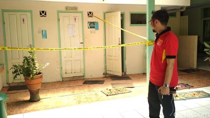 Lokasi bayi di Tulungagung dibunuh (Foto: Adhar Muttaqin)