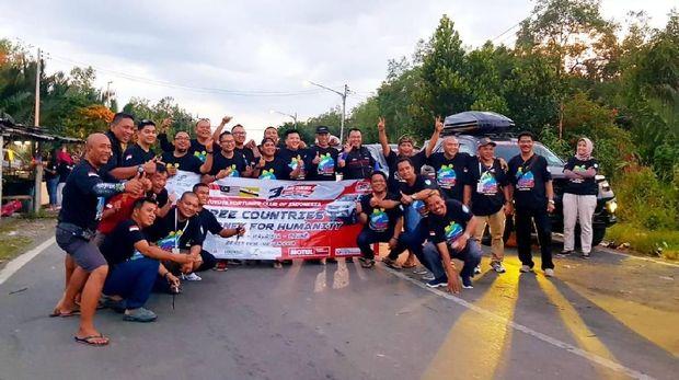 Toyota Fortuner Club of Indonesia (ID42NER) keliling Sumatra Barat pada 28 Desember 2018 sampai 01 Januari 2019.
