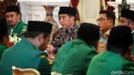 Bicara Dampak Corona, Jokowi Ajak GP Ansor Ikhtiar Dhohir dan Batin
