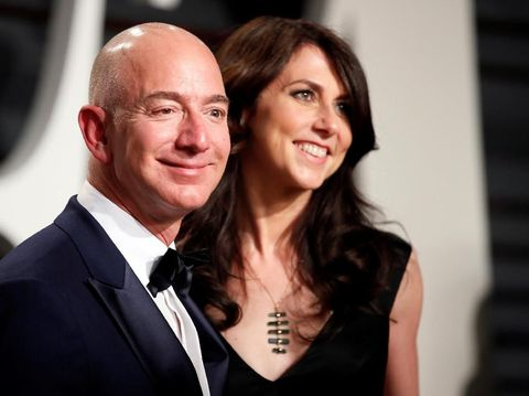 Jeff Bezos dan Mackanzie Bezos