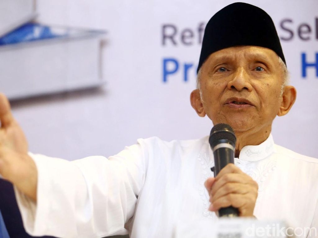 Amien Rais Nilai Jokowi Blunder soal Pilgub DKI: Kata Ahok Dibiayai Pengusaha