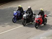 Agustus 2021 Berlaku! Rider CBR250RR, R25, ZX-25R Perlu Naik Golongan ke SIM CI?