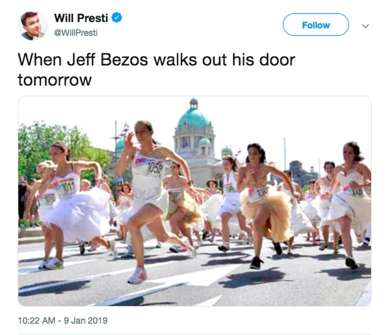 Jeff Bezos cerai mungkin akan jadi rebutan banyak wanita. Foto: istimewa