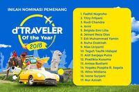 Inilah Nominasi Pemenang tiketcom d'Traveler of The Year 2018!