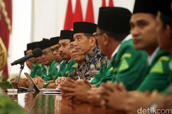 Bahas Situasi Tanah Air, GP Ansor Menghadap Jokowi