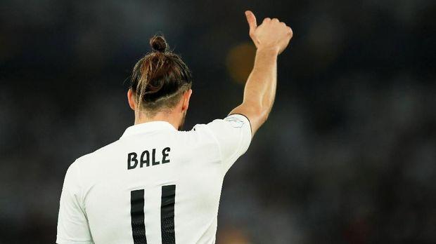 Gareth Bale mengenakan nomor punggung 11 selama di Madrid sejak 2013/2014.