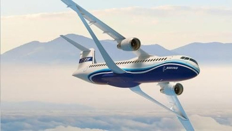 Desain Transonic Truss-Braced Wing dari Boeing (Dok. Boeing)