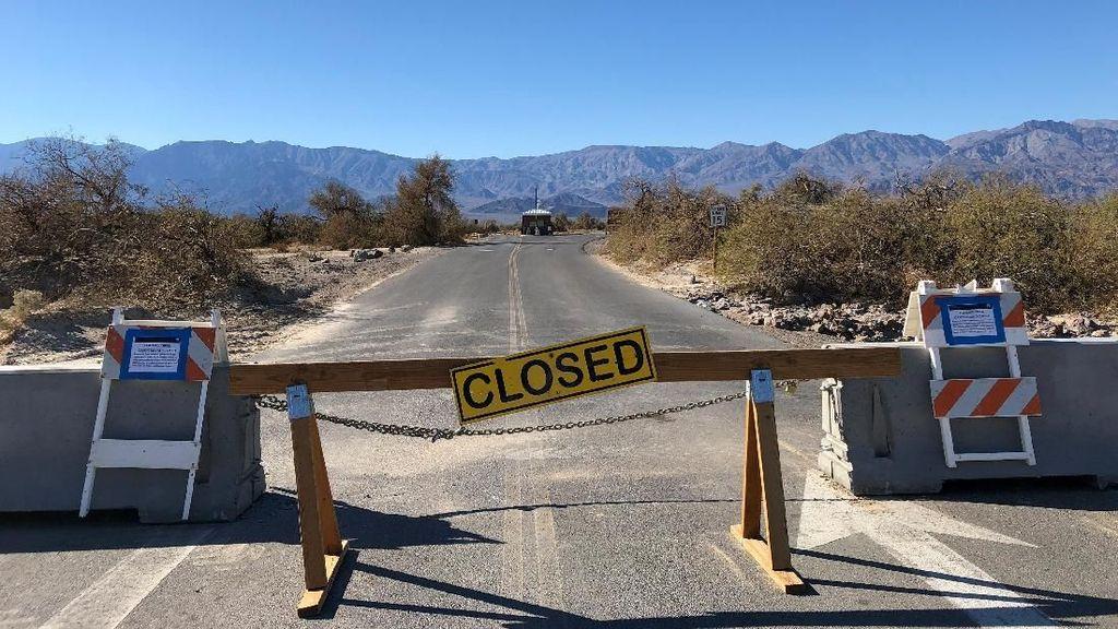 Trump-Parlemen Buntu, Taman Nasional Death Valley Ikut Terdampak