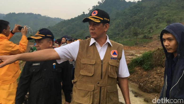 BNPB: Penanganan Pascalongsor di Sukabumi Harus Tiru Banjarnegara