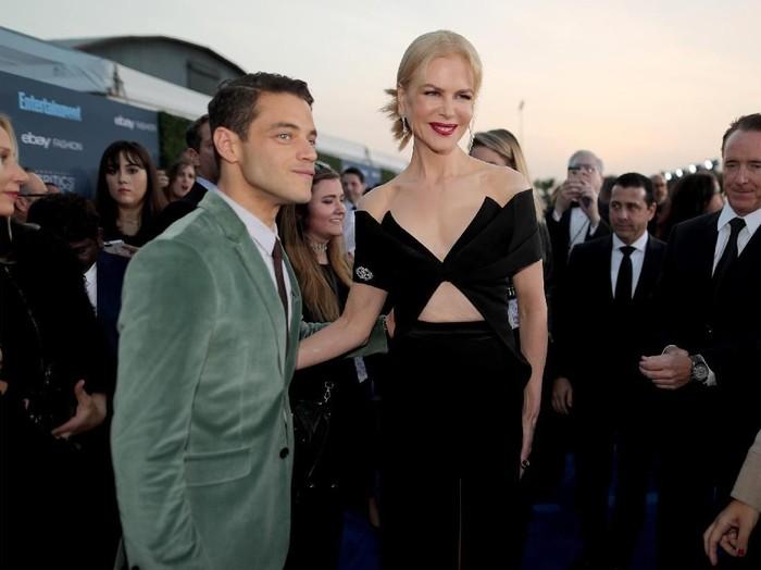 Rami Malek dan Nicole Kidman. (Foto: Getty Images)