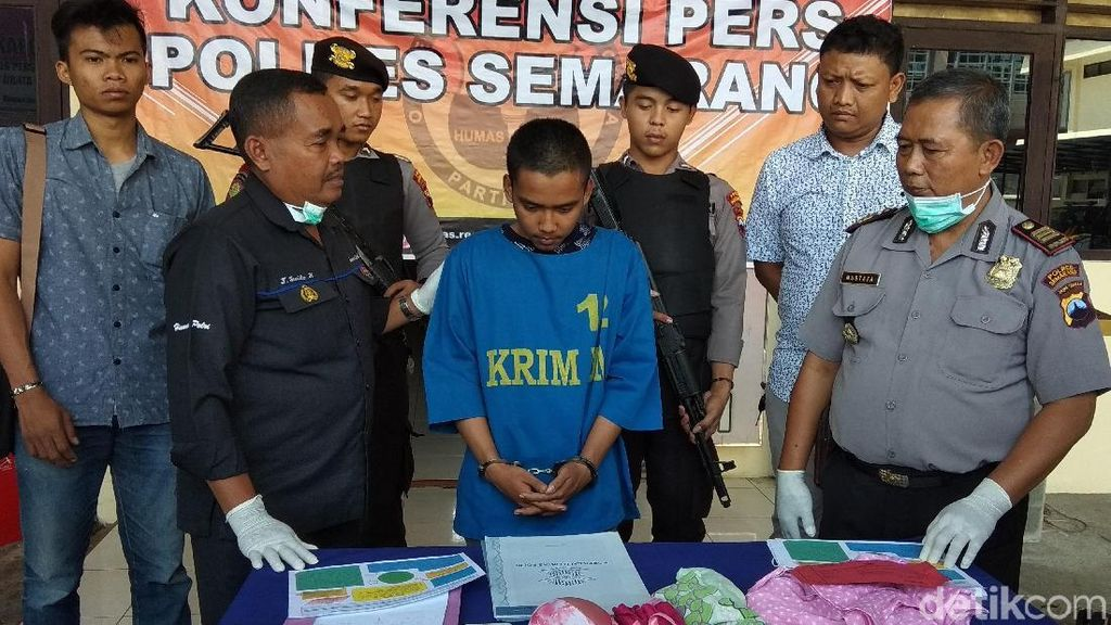 Polres Semarang Ringkus Pelaku Pencabulan Anak di Bawah Umur