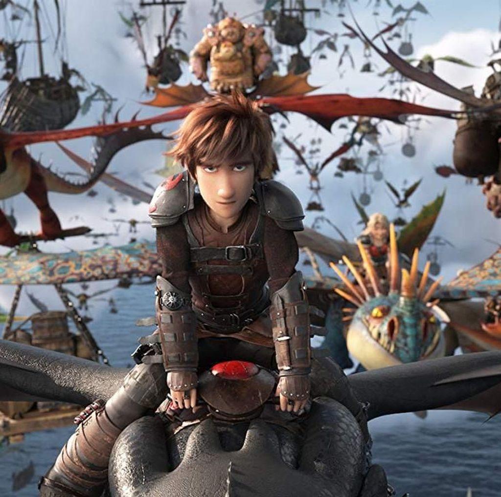 Pameran How to Train Your Dragon Tiba di AS