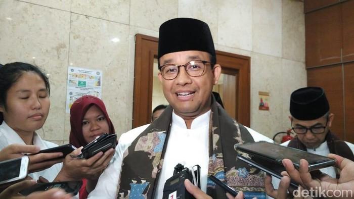 Foto: Gubernur DKI Jakarta Anies Baswedan. (Fida-detikcom)