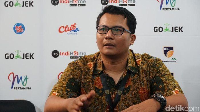 Efri Meldi, pelatih Satria Wacana (Femi Diah/detikSport)