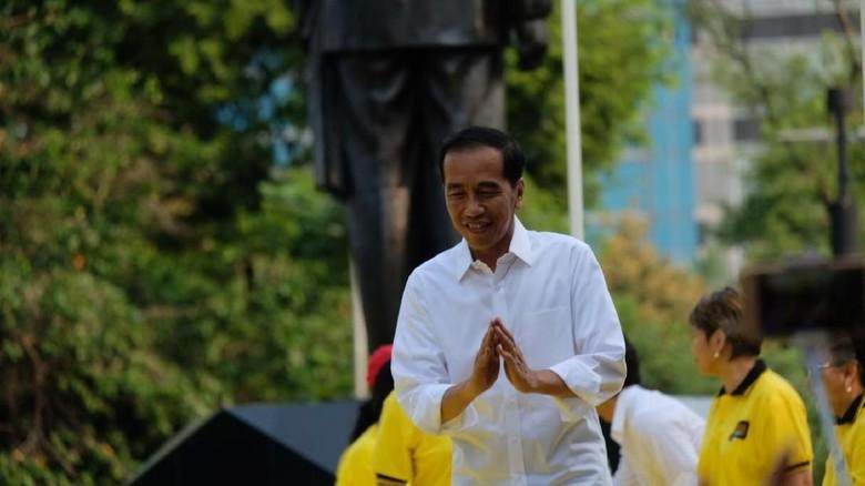 Jokowi Mohon Maklum Jaminan Kesehatan Nasional Masih Ada Problem