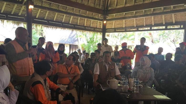 Hindari Tsunami, BNPB Minta Kamar Hotel di Pandeglang di Lantai Dua
