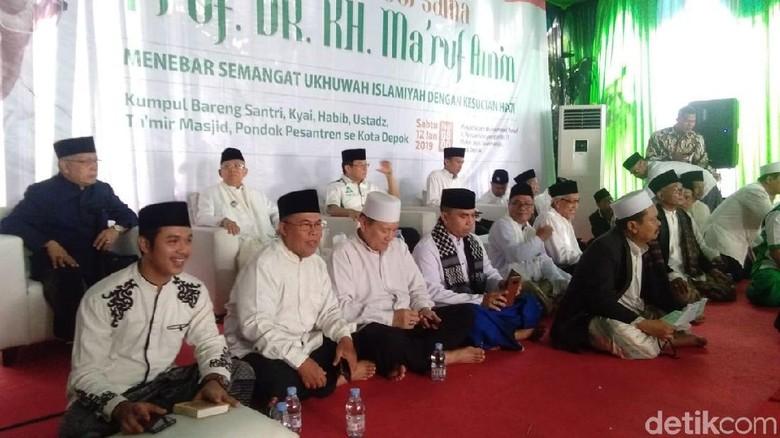 Maruf Amin Hadiri Zikir Bersama Santri Se-Kota Depok