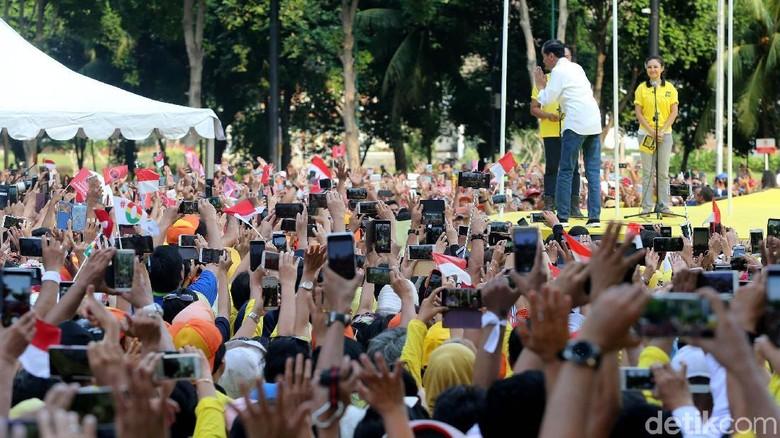 Projo Bantah Gerindra: Tak Ada Massa Bayaran di Deklarasi Alumni UI
