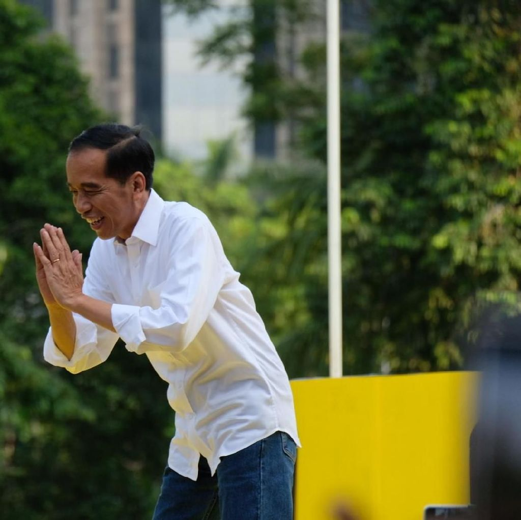 Jokowi Soal Debat: Kita Datang, Kalau Ada Tanya ya Dijawab, Gitu Aja