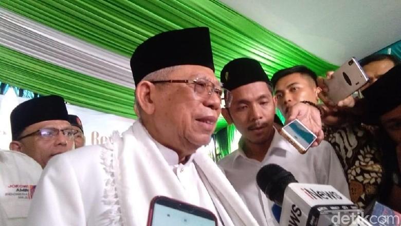 Maruf Amin: Negara Harus Dijaga, Sedang Ada Tsunami Hoax