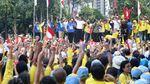 Begini Semangat Para Pendukung Jokowi