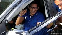 Sandiaga ke Luhut: Prabowo Selalu Bicara Berdasarkan Data