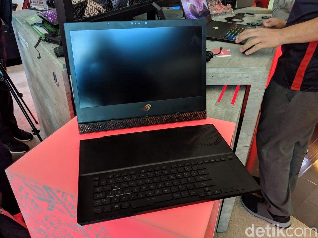 Digadang sebagai Surface Pro versi game. Foto: Adi Fida Rahman/detikINET