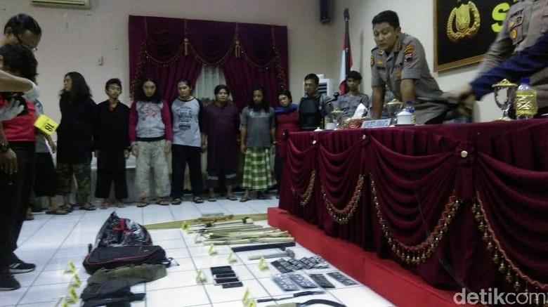Polisi Kejar Pelaku Lain dalam Aksi Sweeping Bersenjata di Solo